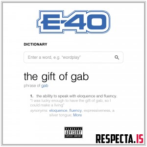 E-40 - The Gift Of Gab [320 kbps / iTunes]