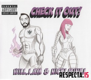 Will.I.Am & Nicki Minaj - Check It Out! (UK CD single)