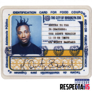 Ol' Dirty Bastard - Return to the 36 Chambers: The Dirty Version (25th Anniversary Remaster)