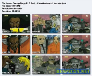 Snoop Dogg ft.B Real - Vato (Animated Version)