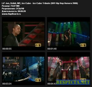 Lil' Jon, Xzibit, WC, Ice Cube - Ice Cube Tribute [VH1 Hip Hop Honors 2006]