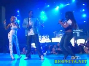 P. Diddy, Keyshia Cole And Lil Kim - Last Night - (BET Awards 07)