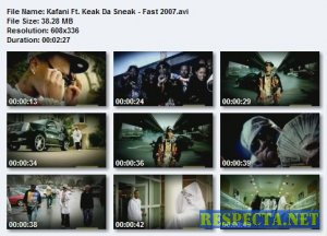 Kafani Ft. Keak Da Sneak - Fast 2007