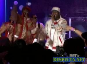 50 Cent ft. Tony Yayo- Ayo Technology (106 And Park 09-11-07)