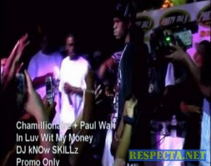 Chamillionaire ft. Paul Wall - In Luv Wit My Money (Live)